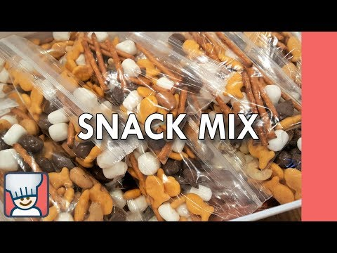 How to make a snack mix