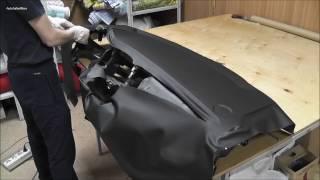 Перетяжка торпедо - Kia Sportage / Torpedo Blowing - Kia Sportage