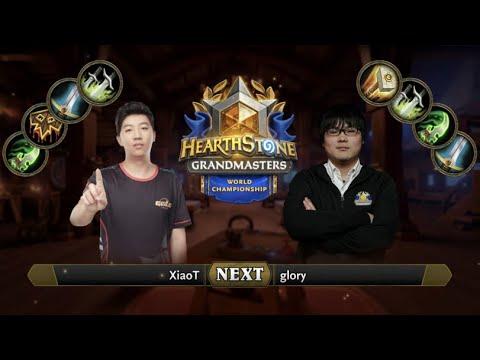 Xiaot vs Glory - Hearthstone World - Game 4
