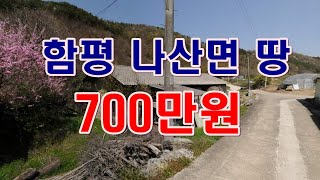 [부동산 경매물건] 전남 함평 나산면 수하리 땅!! 건…