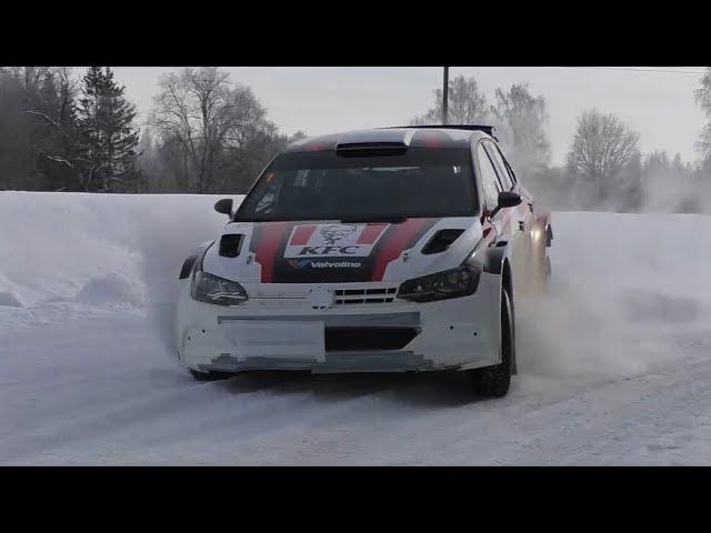 ALM Motorsport test before Otepää Talveralli 2021 (Linnamäe, Usin, Sei)