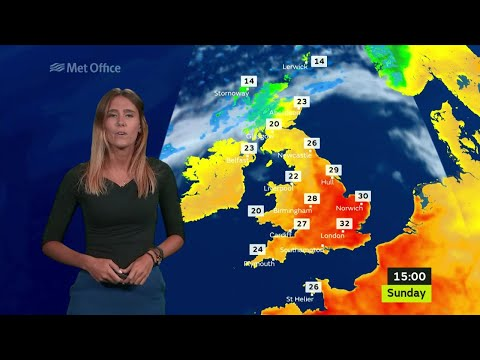 Met Office National Weather Evening 17/06/2017