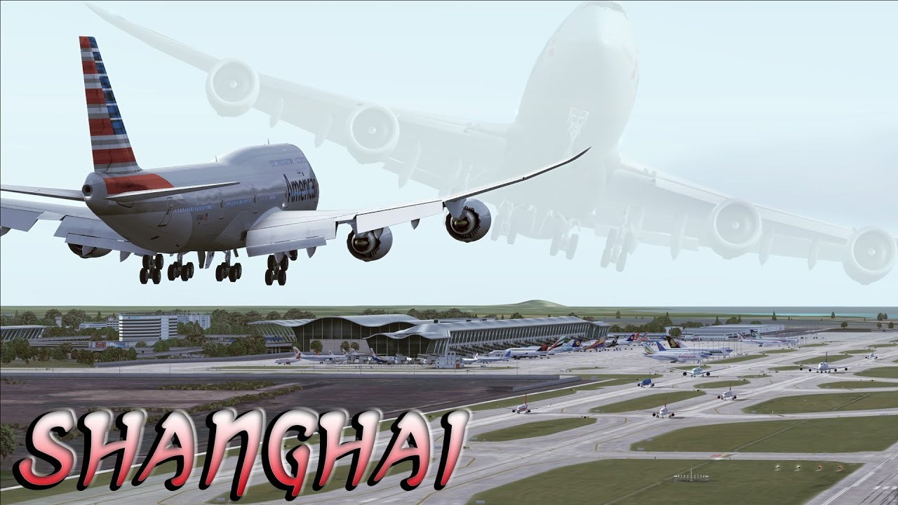 Fsx Hd Fictional American Airlines Boeing 747 8i