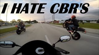 10 Reasons Why I Hate CBR Riders