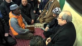 زيارة وزير الشؤون الدينية الدكتور محمد خليل للمدرسة القرآنية عمر ابن الخطاب