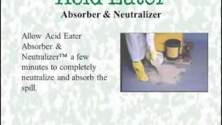 acid eater absorber instructional video