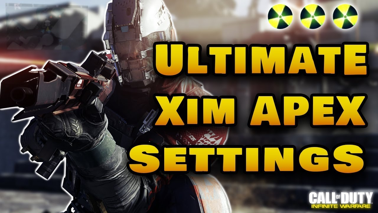 Ultimate Xim Apex Settings | Infinite Warfare | Keybinds And Config File  Included by Mr  Omega