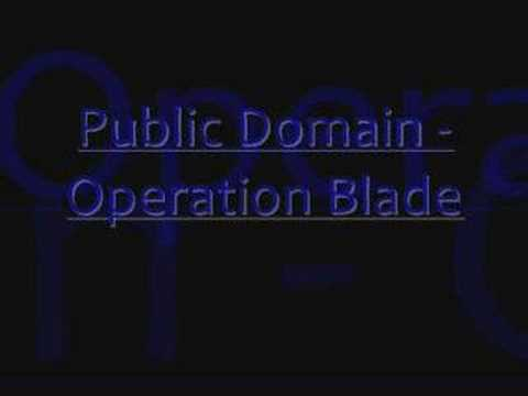 Public Domain - Operation Blade