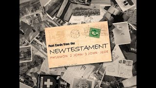 """Postcards from the New Testament: """" Love God! Love People!"""""""