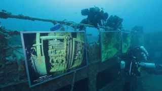 Underwater Art Exhibit