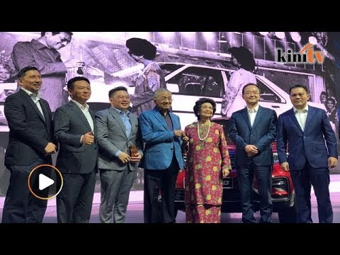 Dr M Hopes Proton-Geely Collaboration Will Produce A 100% M'sian Car