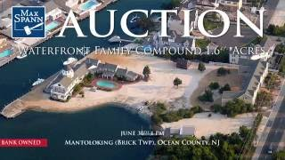 New Jersey Waterfront Real Estate Auction