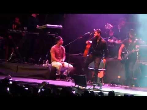 Ver Video de Romeo Santos 260314 Romeo Santos - Un beso , Concerto a Milano