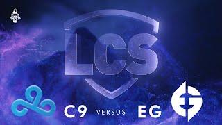 C9 vs EG - Game 1   Playoffs Round 2   Summer Split 2020   Cloud9 vs. Evil Geniuses