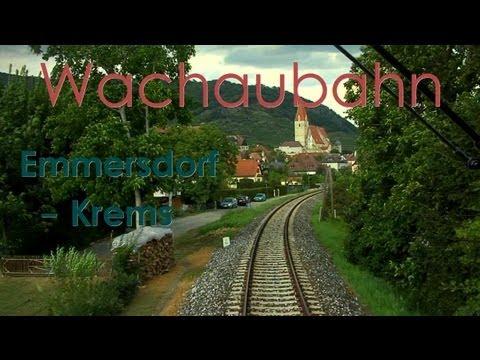 Führerstandsmitfahrt Wachaubahn Emmersdorf - Krems a. d. Donau - Cab Ride - 2043