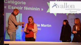 La ville d'Avallon (89) récompense ses sportifs - Édition 2017