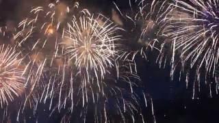 Международный фестиваль фейерверков «Ростех» 23.07.2016 в Братеево. Выступление России.