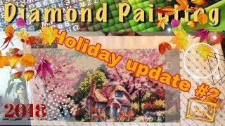 Holiday diamond paint update #2