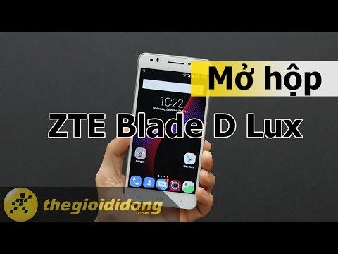 Mở hộp và Trên tay nhanh ZTE Blade D Lux | Thế Giới Di Động