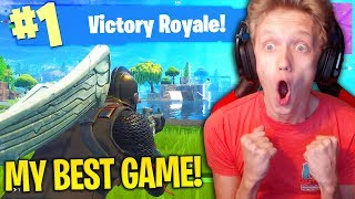 MY BEST GAME on Fortnite: Battle Royale! (25 KILL DUO WIN GAMEPLAY)