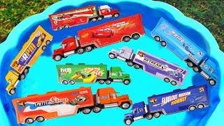 Aprender colores en español - Los COLORES Camiones Videos de Aprendizaje para niños
