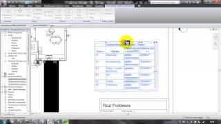 Revit Architecture - Lekcja 19 - Arkusze i wydruk