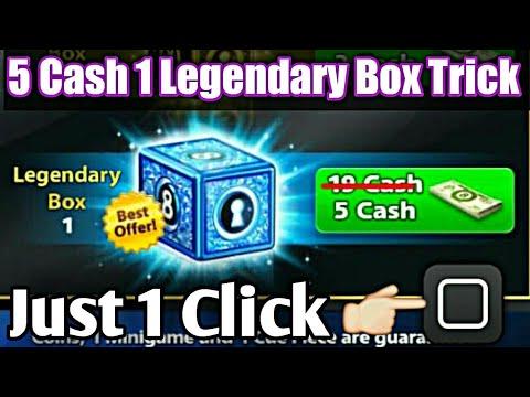 5 Cash 1 Legendary Box | Just 1 Click