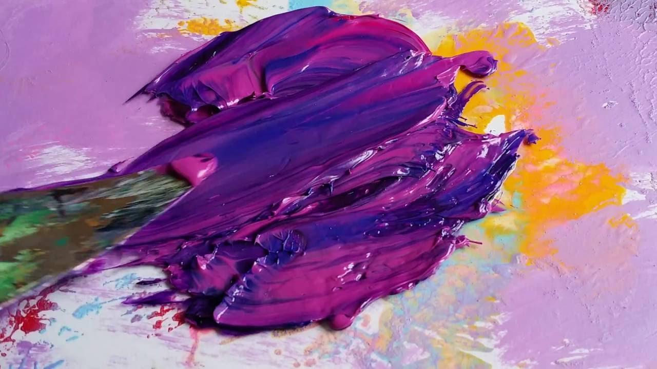mixing oil paints rich purple youtube. Black Bedroom Furniture Sets. Home Design Ideas
