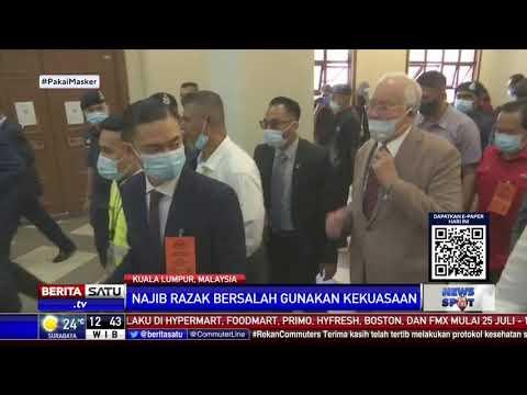 Najib Razak Divonis