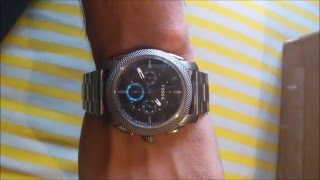 FOSSIL FS4931 watch Unboxing and Review video