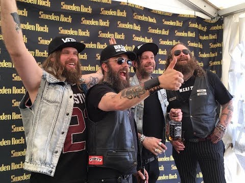 Sweden Rock Festival 2017 Interview with Corroded