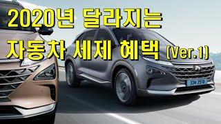 2020년 달라지는 자동차 세제 혜택 (Ver.1)
