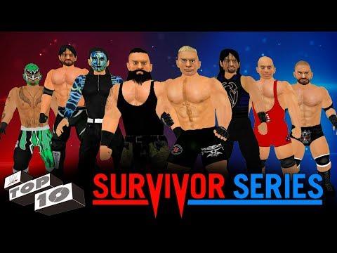 Top 10 WWE Survivor Series 2018 Moments- WR3D 2K19
