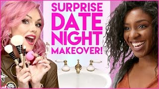 DATE NIGHT SURPRISE MAKEOVER! Stalled w/ Kandee Johnson