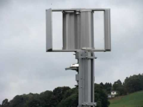 Fast Run Selbstgebautes Edelstahl Windrad Windmühle Mit Darrieus