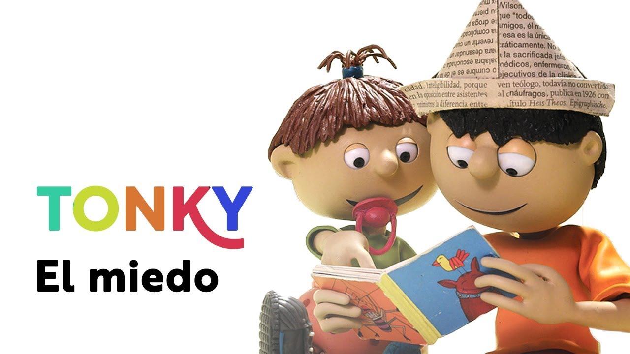Tonky -  El miedo -The fear   Capítulo 13. Serie de animación para niños