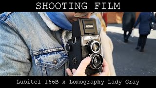 Shooting Film - Lubitel 166B x Lomography Lady Gray 800