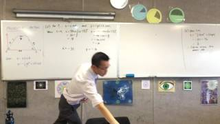 Applications of Projectile Motion (3 of 4: Finding the velocity the collision occurs at)