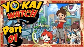 Yo-Kai Watch - Part 1 | A New Adventure Begins! [English Gameplay Walkthrough]