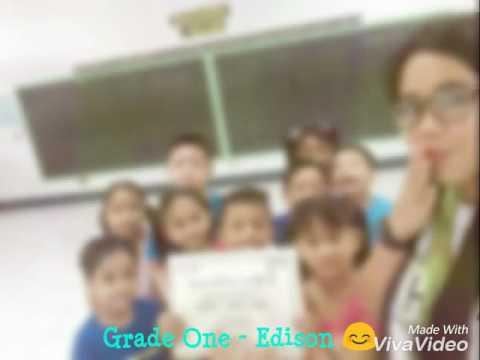 Grade One - Edison (2016-2017)