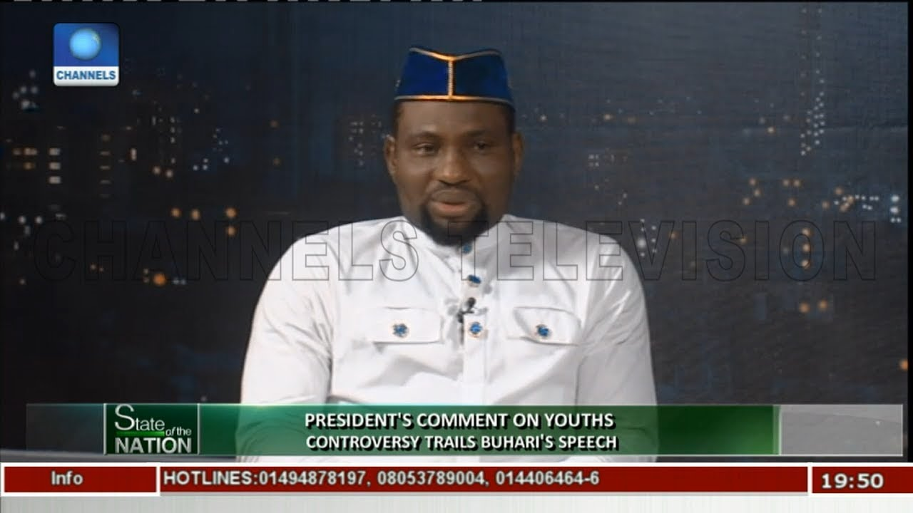 Analysing President Buhari's Speech On Youths |State Of The Nation|