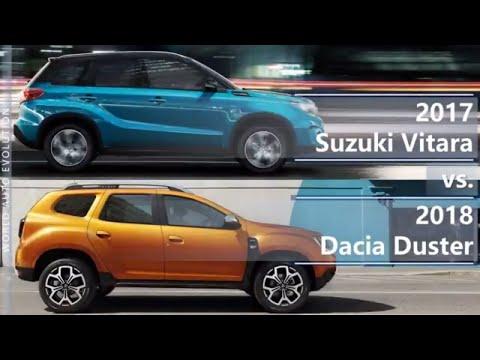 2017 Suzuki Vitara vs 2018 Dacia Duster (technical comparison)