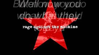 Rage Against The Machine-Killing in the name(con letra/with lyrics)