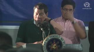 FULL SPEECH: Duterte visits the 2nd Mechanized Infantry Brigade in Iligan City