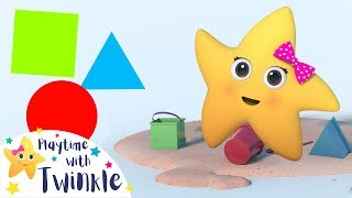 Learn Colors and Shapes | Kids Learning Videos | Playtime With Twinkle | Little Baby Bum