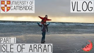 FIELD TRIP TO THE ISLE OF ARRAN WITH CAMBRIDGE UNIVERSITY PART 1 | HOTEL VEGAN FOOD DISASTER  | VLOG