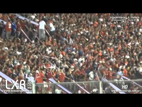 Independiente 2 - Rafaela 0 / Avalancha en la Norte Baja