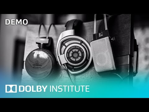 How to Mix Videos | Demo | Dolby Institute | Dolby