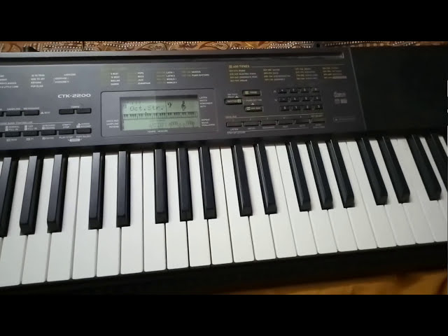 Nagin song on keyboard Ctk-2200 | well Explained
