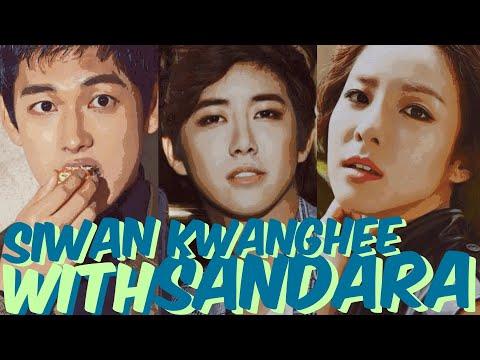 ZE:A Im Siwan & Hwang KwangHee With Sandara